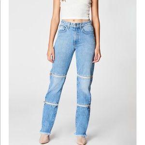 BNWT Carmar zip jeans